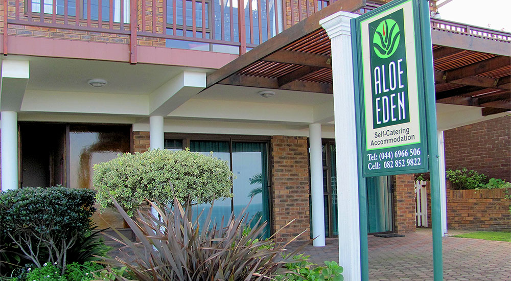 Self-catering accommodation at Aloe Eden