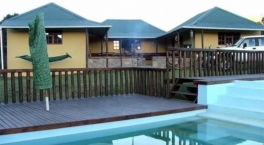 Large chalet with swimming pool and fireplace