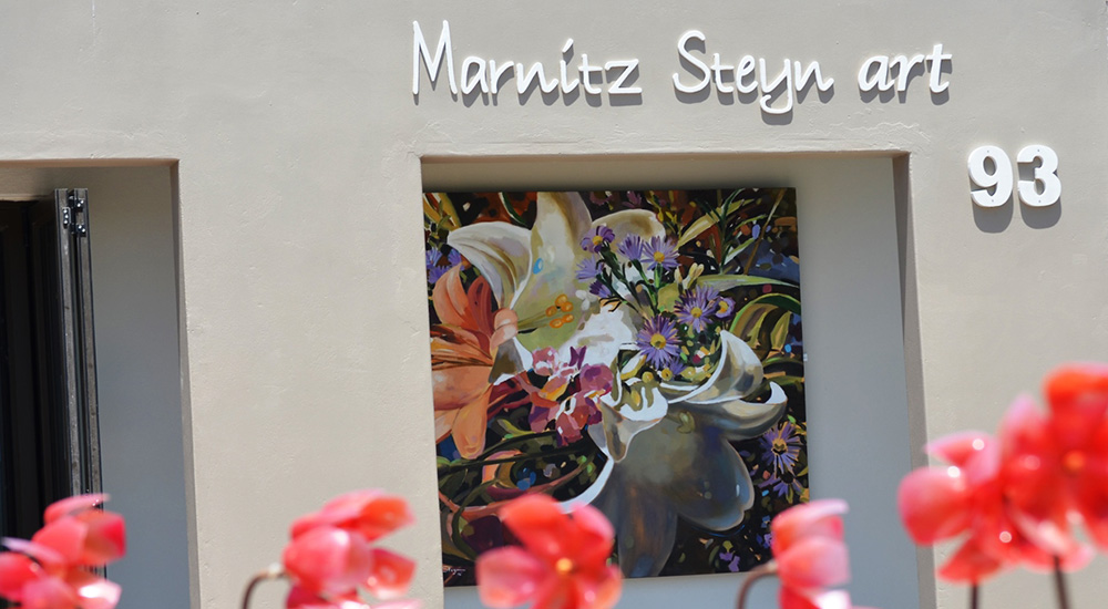Marnitz Steyn Art showcasing paintings and sculptures