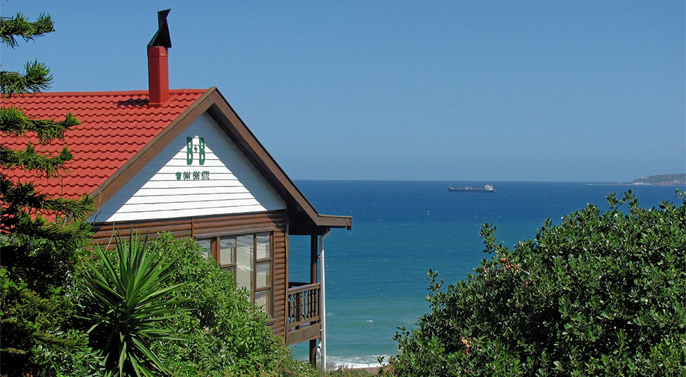 Stunning ocean view from Whale-Phin Guest House