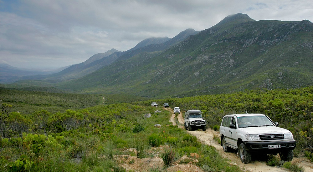 4x4 routes along the Outeniqua mountains.