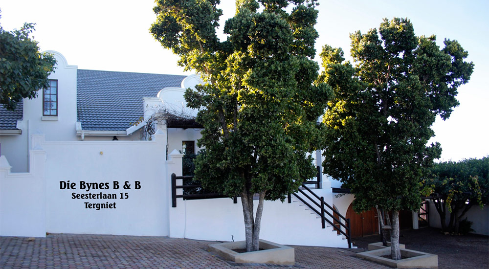 Beautiful Cape Dutch architecture of Die Bynes