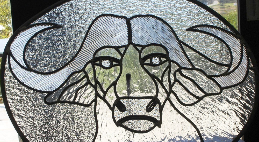 Handmade stained and leaded glass items at Glass-on-DeWerf