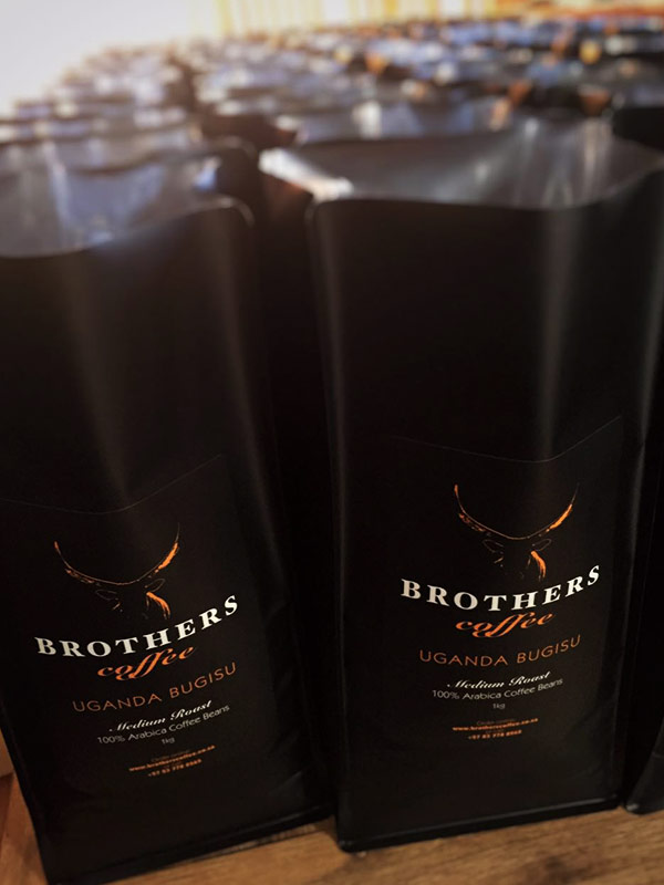 Brothers Coffee packaging