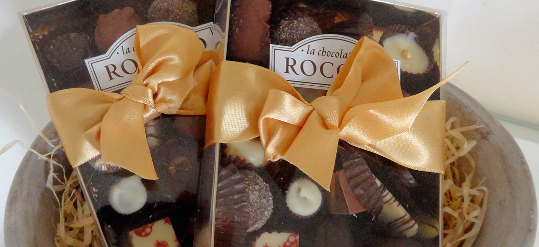 Chocolate gifts by La Chocolaterie Rococo